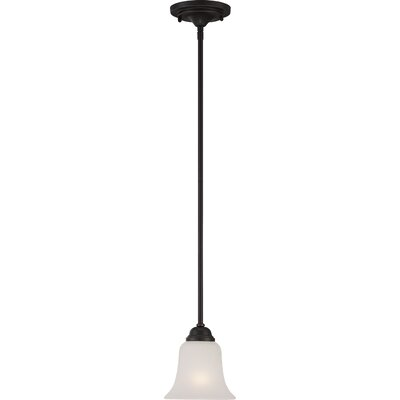 Elizabeth 1-Light Mini Pendant Finish: Sudbury Bronze
