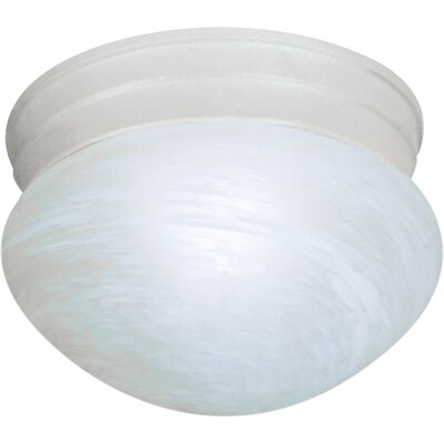 Keaton 1-Light Flush Mount Finish: Textured White