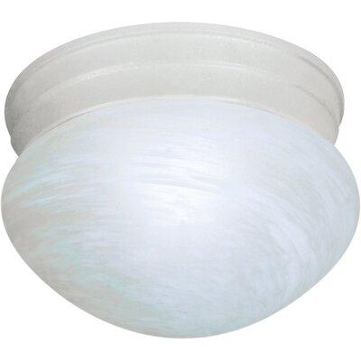 1-Light Flush Mount Finish: Textured White