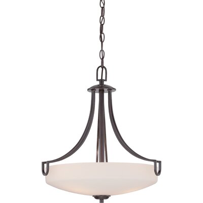 Fenderson 3-Light Pendant Finish: Georgetown Bronze
