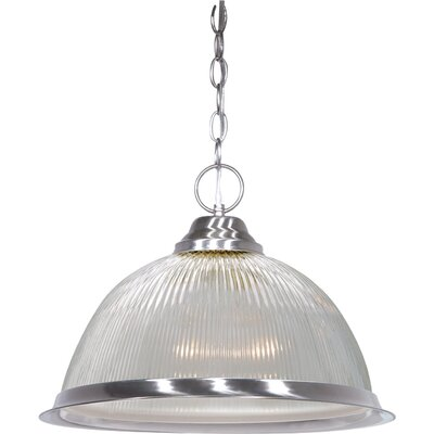 Dedham 1-Light Pendant Finish: Brushed Nickel
