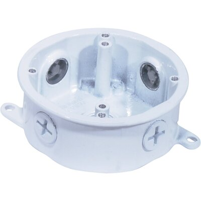 Die Cast Junction Box Finish: White