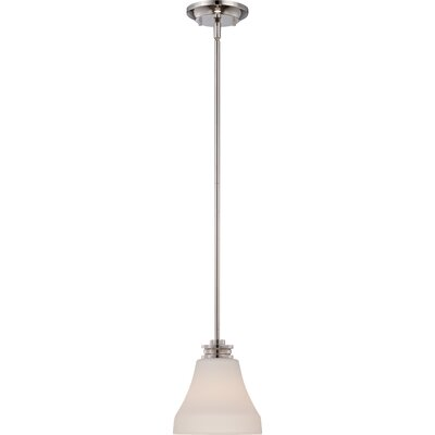 Crainville 1-Light Mini Pendant Finish: Polished Nickel