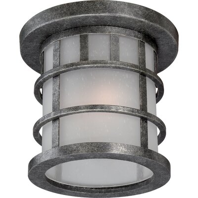 Manor 1-Light Flush Mount Features: Wattage: 13W