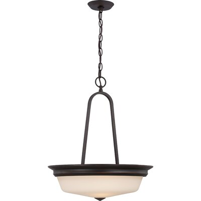 Calvin 3-Light Pendant Finish: Mahogany Bronze