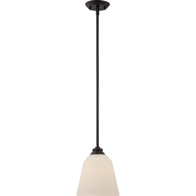 Calvin 1-Light Mini Pendant Finish: Mahogany Bronze