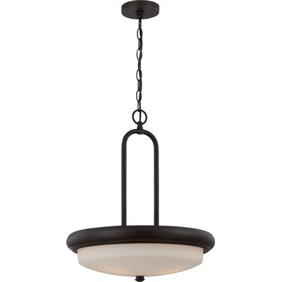 Burhill 3-Light Pendant Finish: Mahogany Bronze