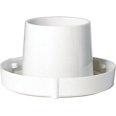 Twist Lock Holder Finish: White, Size: 5.5 W