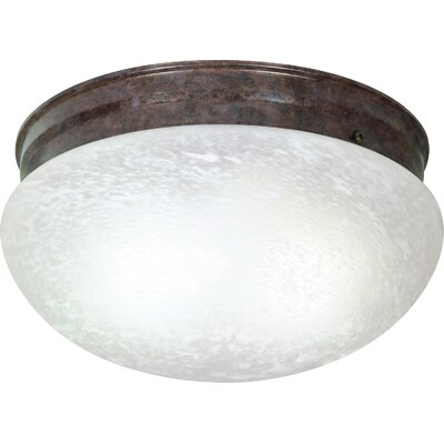 Chacon 2-Light Flush Mount Finish: Old Bronze