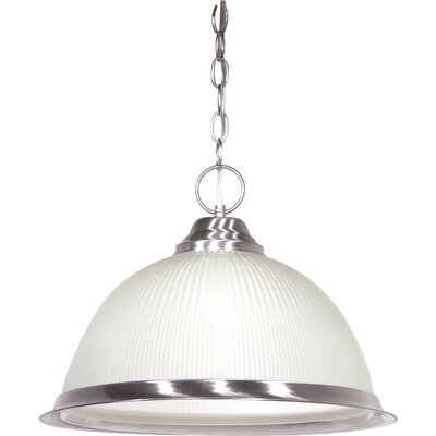 1-Light Pendant Finish: Brushed Nickel