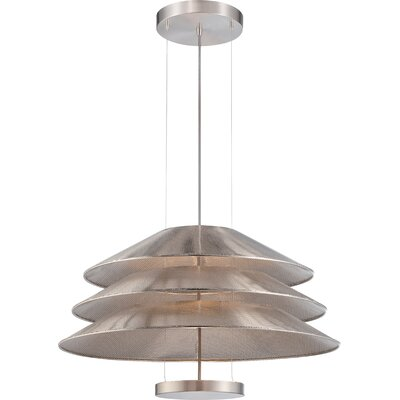 Evol 1-Light Pendant Finish: Satin Steel