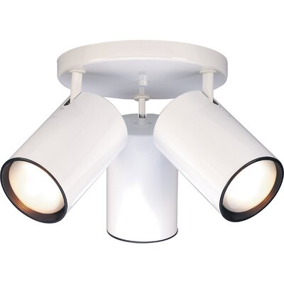 Chabot 3-Light Semi Flush Mount