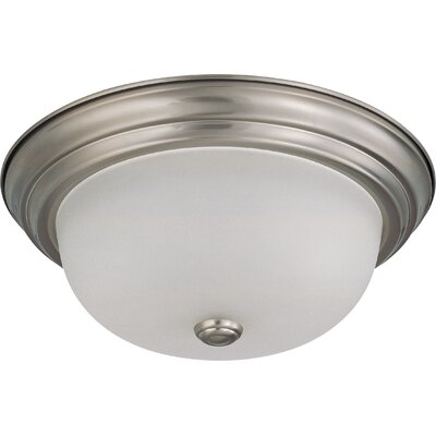 Flush Mount Size / Energy Star: 5.375 H x 13.125 W / Yes