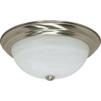 Flush Mount Size / Energy Star: 6 H x 15.25 W / No