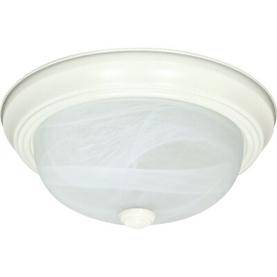 Transitional Flush Mount Size / Energy Star: 6 H x 15.25 W x 15.25 D / Yes