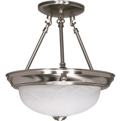 Dahodwala Semi Flush Mount Size / Energy Star: 12 H x 11.375 W / Yes