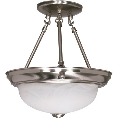 Dahodwala Semi Flush Mount Size / Energy Star: 12 H x 11.375 W / No