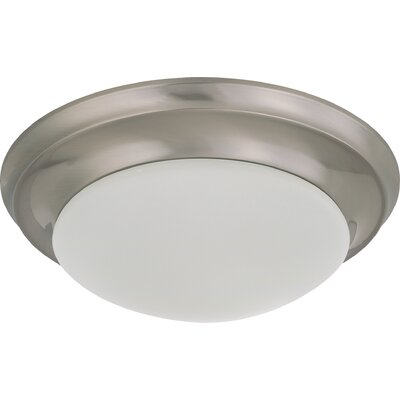 Kampsville Transitional Flush Mount Size / Energy Star: 4.5 H x 11.5 W / Yes