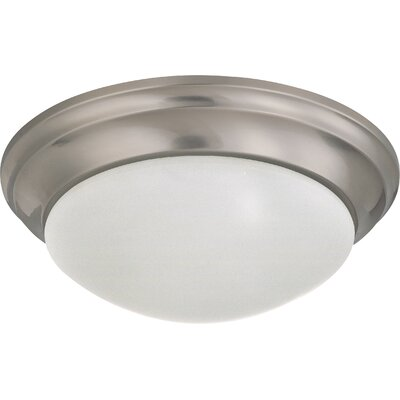 Kampsville Transitional Flush Mount Size / Energy Star: 5.5 H x 14 W / Yes