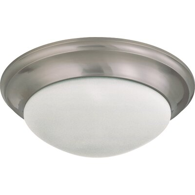 Transitional Flush Mount Size / Energy Star: 6 H x 17 W / Yes
