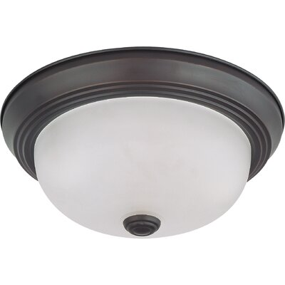 Savannah Dome Flush Mount Size / Energy Star: 4.875 H x 11.375 W / Yes