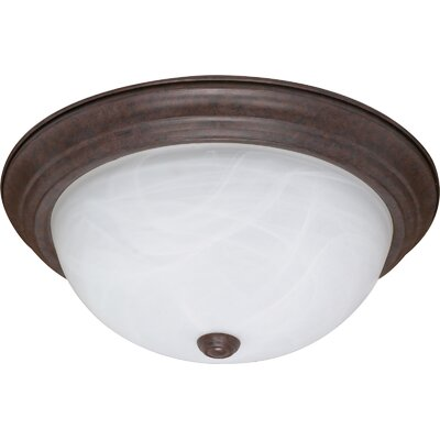 Simsbury Flush Mount Size / Energy Star: 6 H x 15.25 W x 15.25 D / No