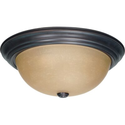 Vivian 6x 15.25 Flush Mount Size / Energy Star: 6 H x 15.25 W / Yes