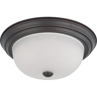 Savannah Dome Flush Mount Size / Energy Star: 5.375 H x 13.125 W / Yes
