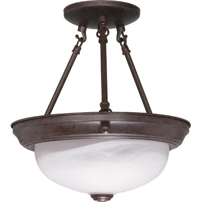 Coulston Semi Flush Mount Size: 12 H x 11.375 W