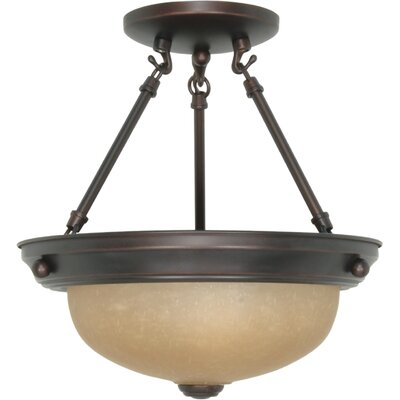 Juliette Semi Flush Mount Size / Energy Star: 12 H x 11.375 W / Yes