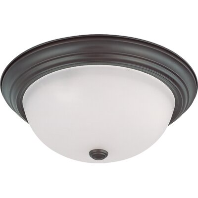 Dome Flush Mount Size / Energy Star: 6 H x 15.25 W / Yes