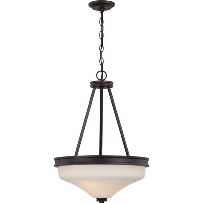 Cody 3-Light Pendant Finish: Mahogany Bronze