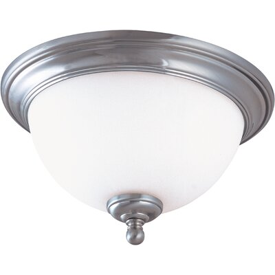 Glenwood Flush Mount Size / Energy Star: 6.75 H x 13 W / Yes