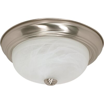 Kangley Flush Mount Size / Energy Star: 5.375 H x 13.125 W / Yes