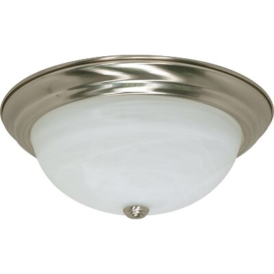 Kangley Flush Mount Size / Energy Star: 6 H x 15.25 W / Yes