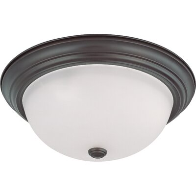 Savannah Dome Flush Mount Size / Energy Star: 6 H x 15.25 W / No