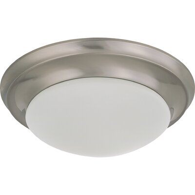 Transitional Flush Mount Size / Energy Star: 4.5 H x 11.5 W / No