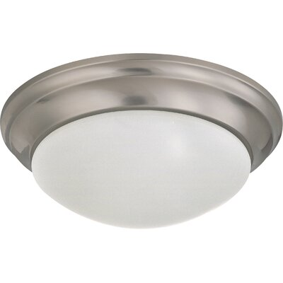 Transitional Flush Mount Size / Energy Star: 5.5 H x 14 W / No