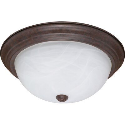 Simsbury Flush Mount Size / Energy Star: 6 H x 15.25 W x 15.25 D / Yes
