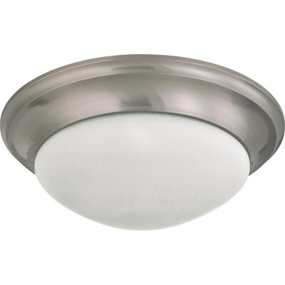Transitional Flush Mount Size / Energy Star: 6 H x 17 W / No