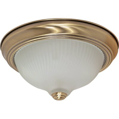 Jolly Flush Mount Size: 4.875 H x 11.375 W