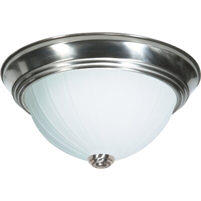 Wolter Energy Star Flush Mount Size: 5.25 H x 11 W