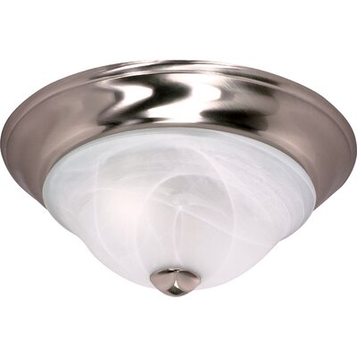 Triumph Flush Mount Size / Energy Star: 13 H x 5.37 W / No