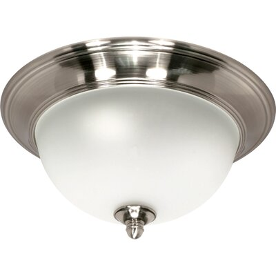 Palladium Flush Mount Size / Energy Star: 16 H x 7.5 W / No