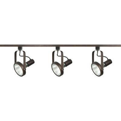 3-Light Full Track Lighting Kit Finish: Russet Bronze