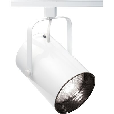 1-Light Straight Cylinder R40 Track Head