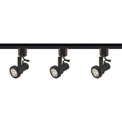 Gimbal 3-Light Line Voltage Ring Full Track Lighting Kit