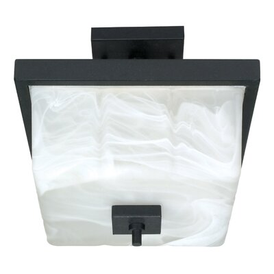 Cubica 2-Light Semi Flush Mount