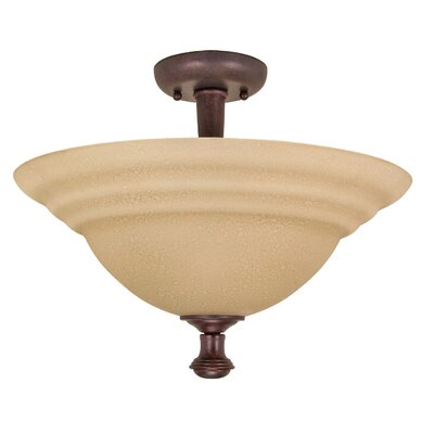 Mericana Semi Flush Mount Energy Star: No