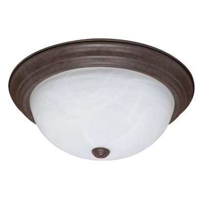 Simsbury Flush Mount Size / Energy Star: 5.375 H x 13.125 W x 13.125 D / No